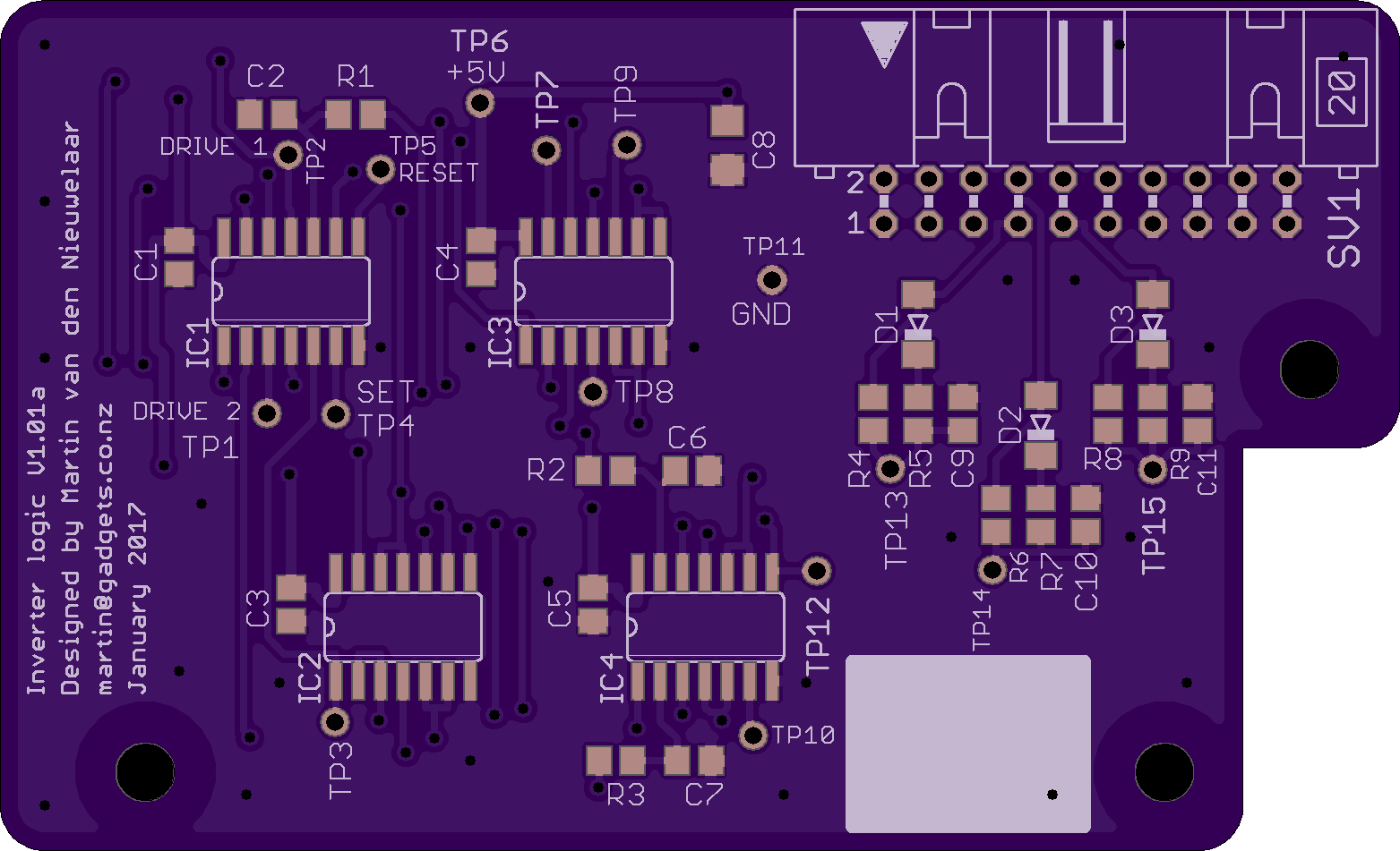 PCB for inverter logic